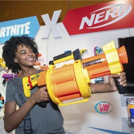 تفنگ نرف Nerf نوع Fortnite GL