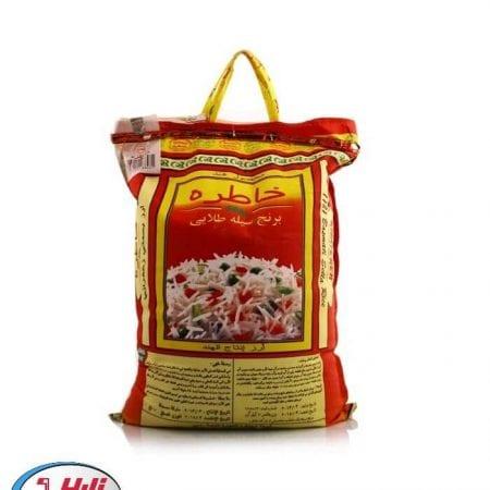 برنج دانه بلند هندی خاطره / وزن خالص ۱۰ کیلو