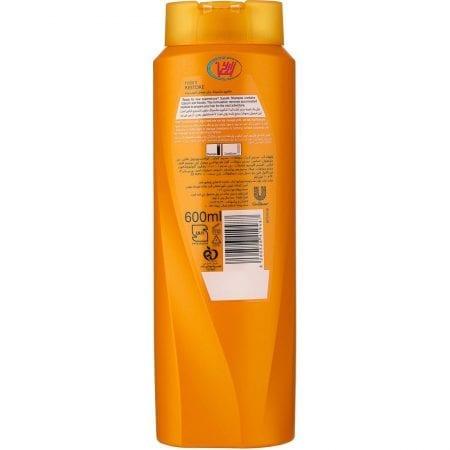 شامپو برای موهای آسیب دیده سان سیلک/۶۰۰ میلی لیتری