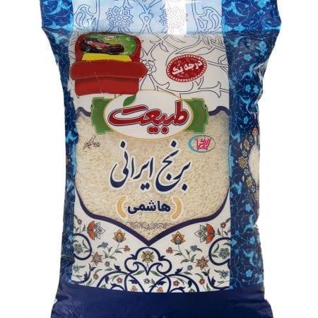 برنج درجه یک ایرانی هاشمی طبیعت/۴.۵ کیلوگرم