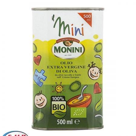 روغن زیتون مونینی ارگانیک کودکان ۵۰۰ میلیلیتری