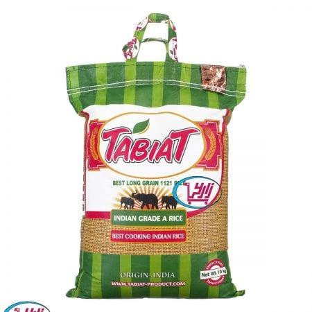 برنج هندی طبیعت دانه بلند ۱۱۲۱ / ۱۰ کیلویی
