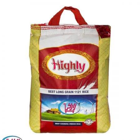 برنج هایلی دانه بلند هندی ۱۱۲۱ / ۱۰ کیلویی