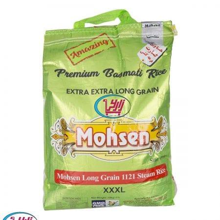 برنج محسن دانه بلند ۱۱۲۱ استیم / ۱۰ کیلویی