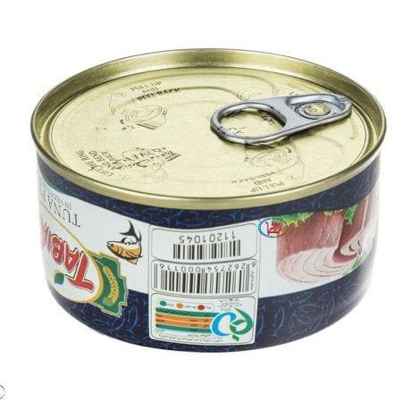 کنسرو ماهی تون در روغن گیاهی طبیعت/۱۸۰ گرم