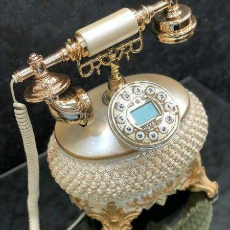 تلفن رومیزی سلطنتی آرنوس طلایی ۰۳۸-AF