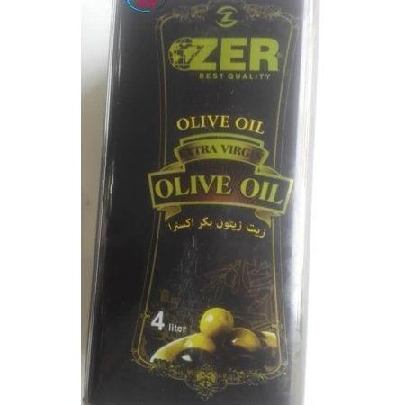 روغن زیتون فوق العاده ویرجین Ozer /مقدار ۴ لیتر